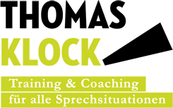 THOMAS KLOCK – Training & Coaching für alle Sprechsituationen
